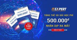 ITExpert thẻ ưu đãi học phí